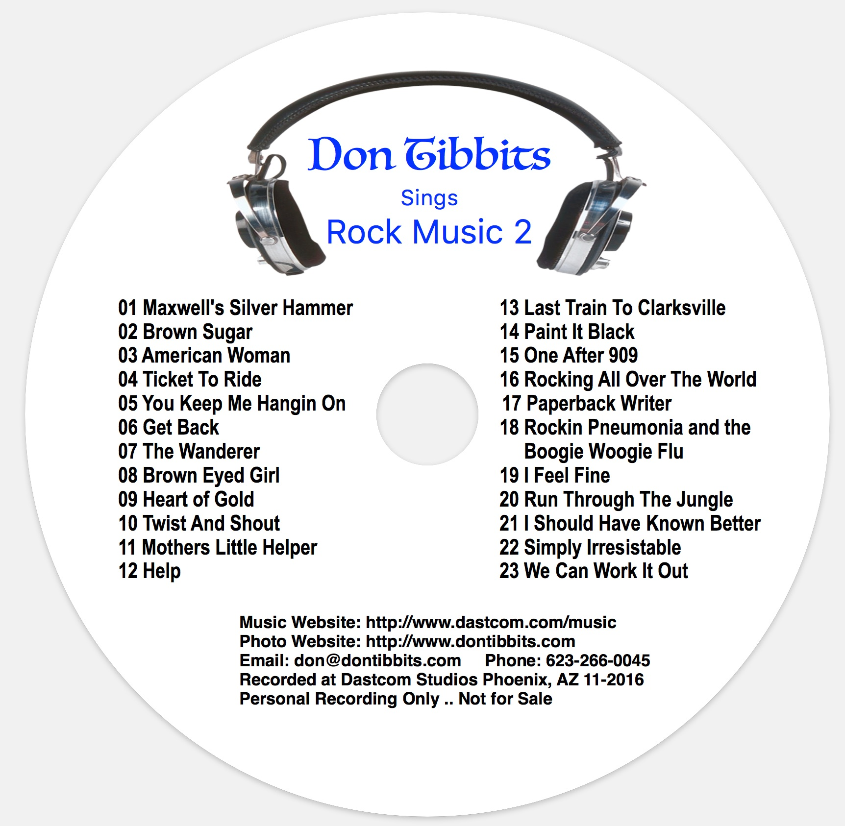 Don Tibbits Music